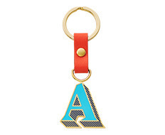 Stickery Initial Key Ring A