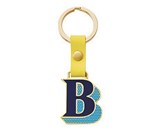 Stickery Initial Key Ring B