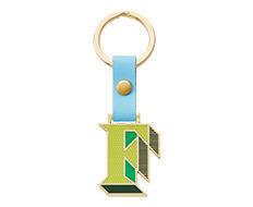 Stickery Initial Key Ring F