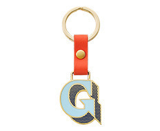Stickery Initial Key Ring G (40%off)