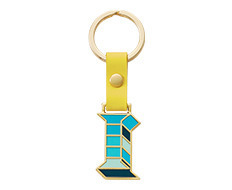 Stickery Initial Key Ring I