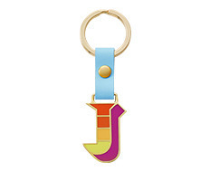 Stickery Initial Key Ring J (40%off)