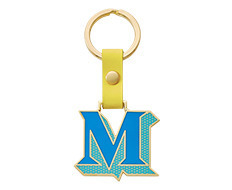 Stickery Initial Key Ring M