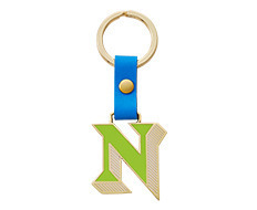 Stickery Initial Key Ring N (40%off)