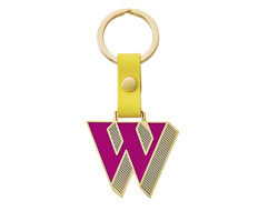 Stickery Initial Key Ring W (40%off)