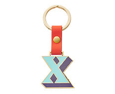 Stickery Initial Key Ring X (40%off)