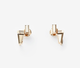 Baguette Stud Double Earrings Ver. 2