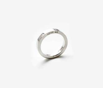 [Monday Edition] Love Me Silver Ring For Single