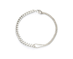 [usual ME] usual silver ball and chain bracelet (15%off)