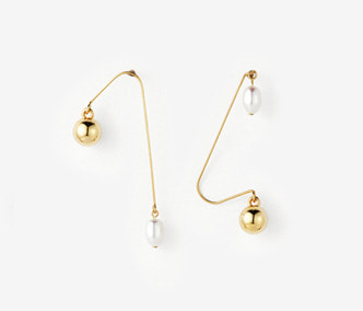 [Monday Edition] Ugly Pearl Simple Earrings (30%off)