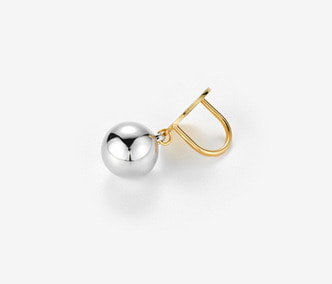 [Monday Edition] Bold Silver Ball Ring (40%off)