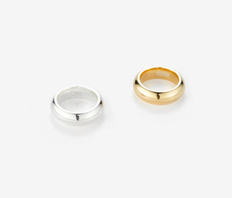 [Monday Edition] Bold Twin Silver Rings