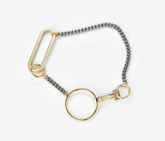 [Monday Edition] Big Shape Chain and Ring Necklace (30%off)