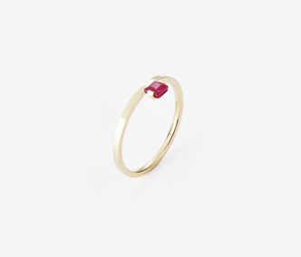 [PRECIOUS] Birthstone Ring Ruby - July