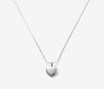 [usual ME] Pounding Heart Simple Necklace (15%off)