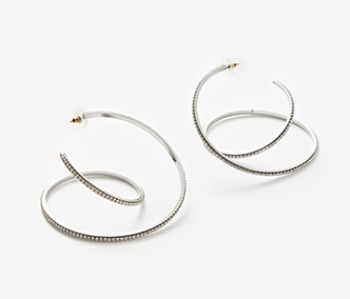 Big Coil Itself Earrings
